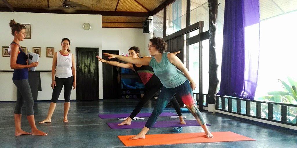 Practice Teaching Yoga Teacher Training