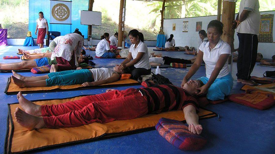 Thai massage at Koh Phangan